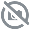 Bague or gris diamants noirs